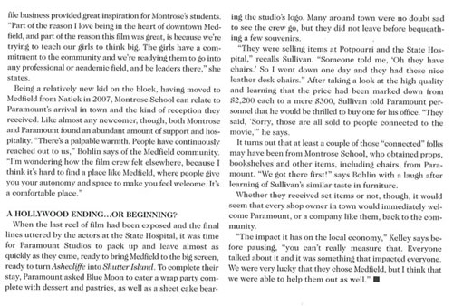 Economics of Ashecliffe 11