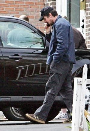 'Fighter' star Christian Bale tours Lowell for film ... Christian Bale House