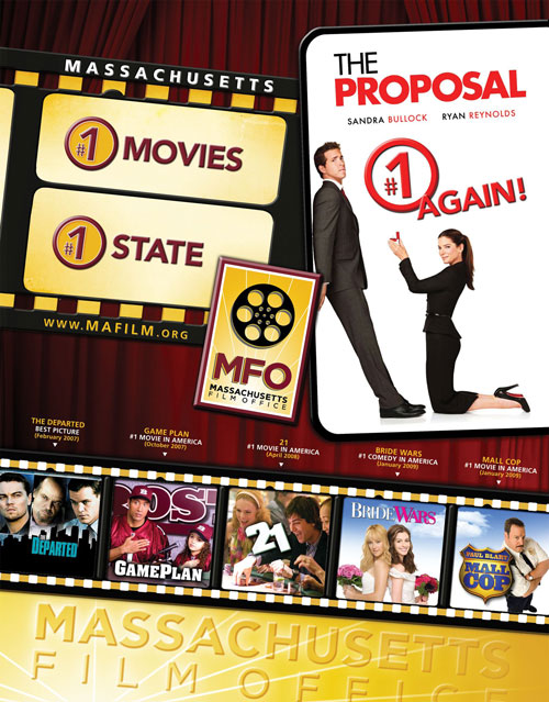 The Proposal Is Number One Massachusetts Film Office
