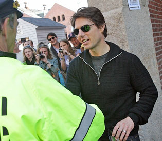 Tom Cruise in the South End