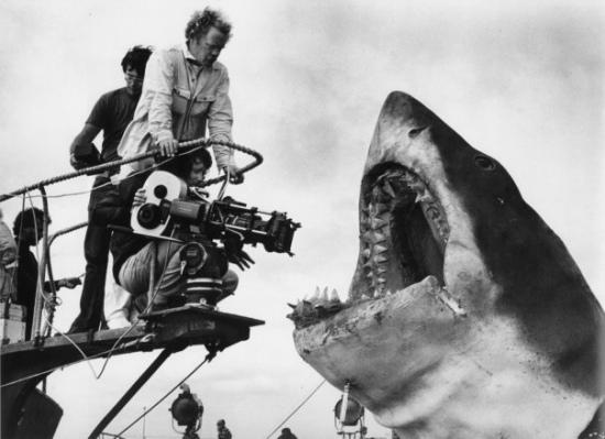 Jaws production shot