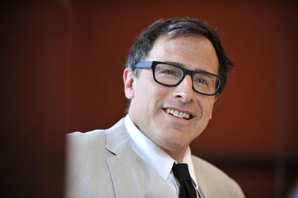 Director David O. Russell at the Intercontinental Hotel, where he was presented with the McLean Award by McLean Hospital, the largest psychiatric affiliate of Harvard Medical School. Josh Reynolds for The Boston Globe (Shanahan, Lifestyle)