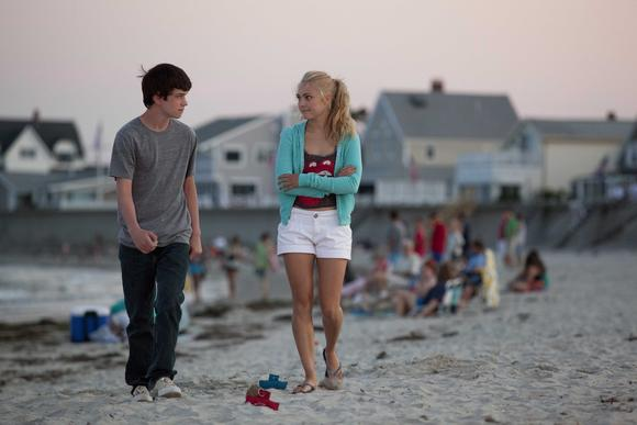 "Liam James plays Duncan and AnnaSophia Robb plays Susanna in ""The Way, Way Back."""