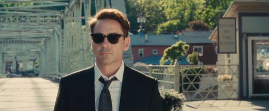 """Shelburne Falls played the role of a small Indiana town for the shooting of """"The Judge,"""" starring Robert Downey, Jr., due out this fall. (YouTube)"""