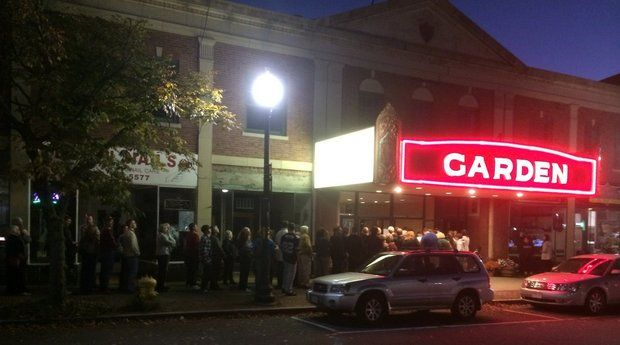 """Four hundred movie-goers turned out for a preview of """"The Judge"""" at the Greenfield Garden Cinemas on Wednesday night. (Ray Kelly 