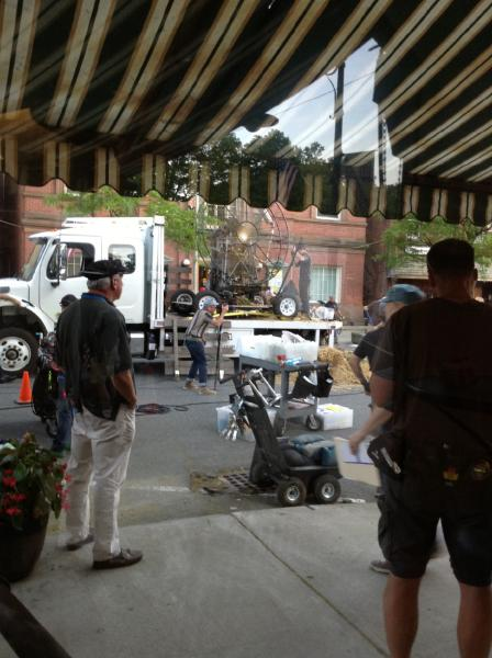 """(Recorder file photo/Diane Broncaccio) Shelburne Falls was one local location for the filming of """"The Judge."""""""