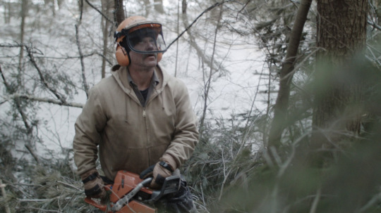 "Berkshires logger Bob Tarasuk plays a version of himself in ""Bob and The Trees."" ICourtesy, Sundance Institute)"