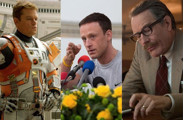 """""""The Martian,"""" """"The Program"""" and """"Trumbo"""""""