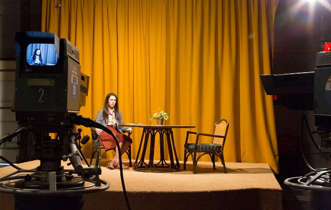 Antonio Campos' Christine, premiering at Sundance, was shot in part in New York City. Photograph by Joe Anderson
