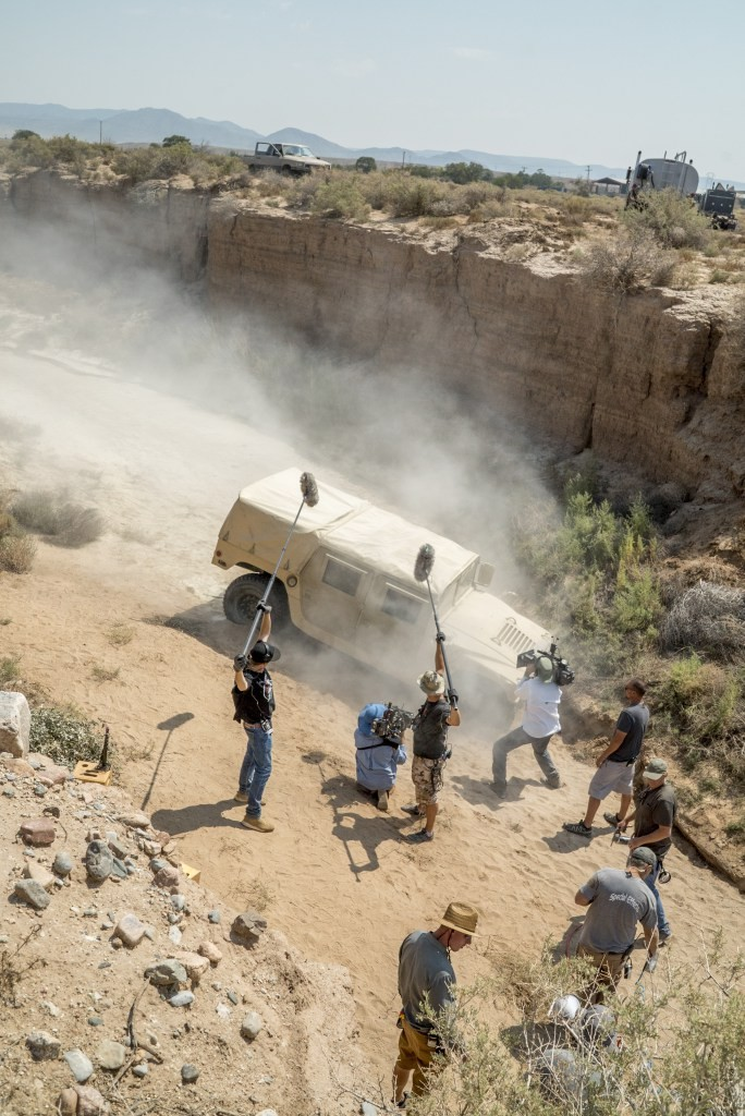 Albuquerque doubles for Afghanistan in NBC/Universal's production of The Brave in 2017. Photograph by Lewis Jacobs.