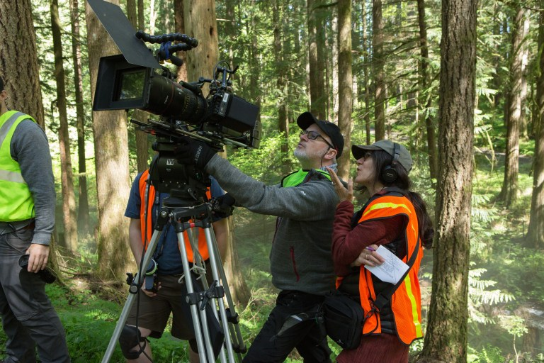 Debra Granik and DP Michael McDonough shoot the forest for the trees during the Portland-based production of Leave No Trace.